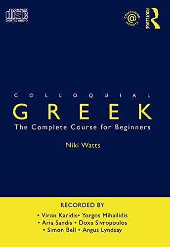 9780415325127: Colloquial Greek (Colloquial Series)