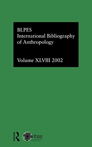 9780415326346: Ibss: Anthropology: 2002 Vol.48 (International Bibliography of the Social Sciences)