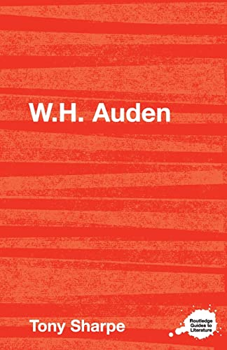 9780415327367: W.H. Auden (Routledge Guides to Literature)