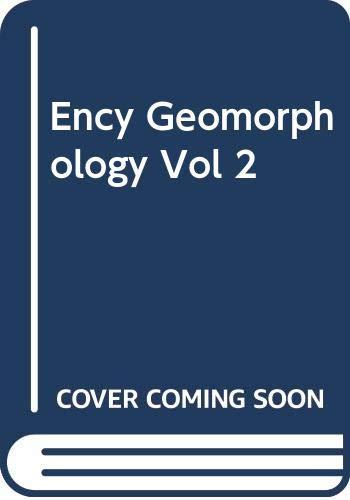 9780415327381: Ency Geomorphology Vol 2