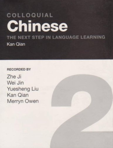 9780415328166: Colloquial Chinese 2: The Next Step in Language Learning