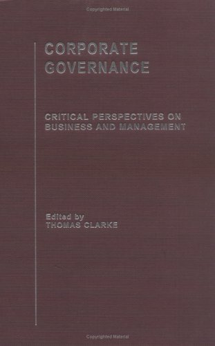 9780415329101: Corporate Governance: Critical Perspectives on Business and Management (Critical Perspectives on Business and Management) 5 Volume Series (v. 1, v. 2, v. 3, v)