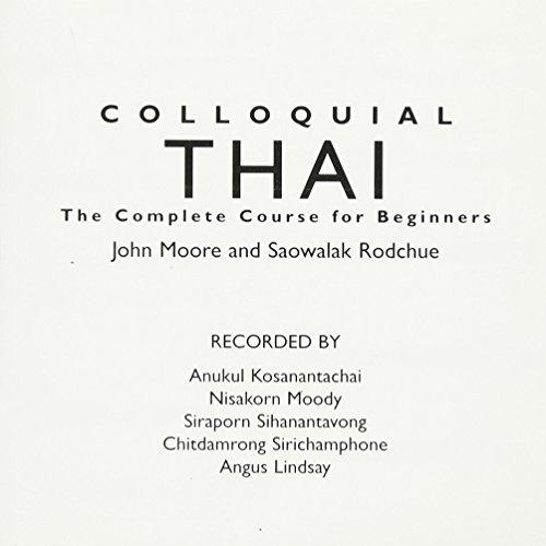 9780415329798: Colloquial Thai (Colloquial Series)