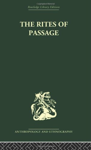 The Rites of Passage. Routledge. 2004.: VAN GENNEP, ARNOLD.