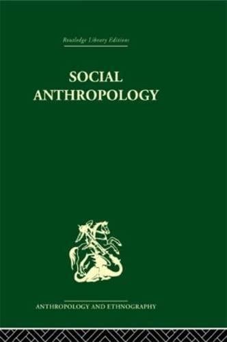 9780415330305: Social Anthropology