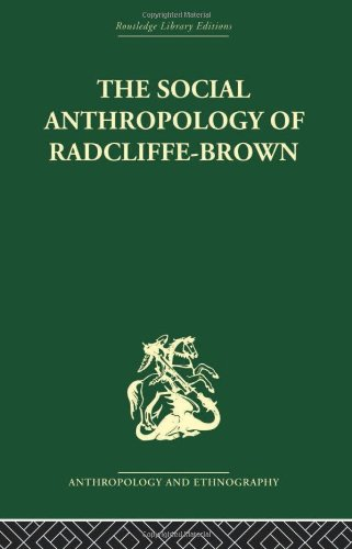 9780415330329: The Social Anthropology of Radcliffe-Brown