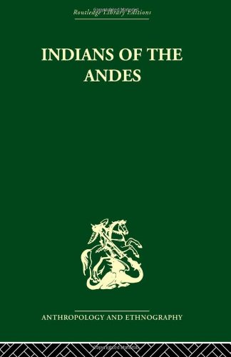 9780415330442: Indians of the Andes: Aymaras and Quechuas