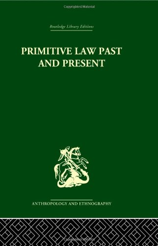 9780415330633: Primitive Law, Past and Present