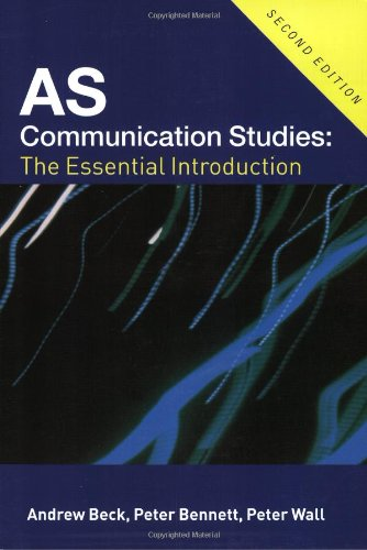 preface for communication studies ia Wiki for collaborative studies of arts  as an account of communication  yale university press, 1957, ia preface to plato, harvard university press.