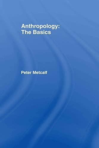 9780415331197: Anthropology: The Basics