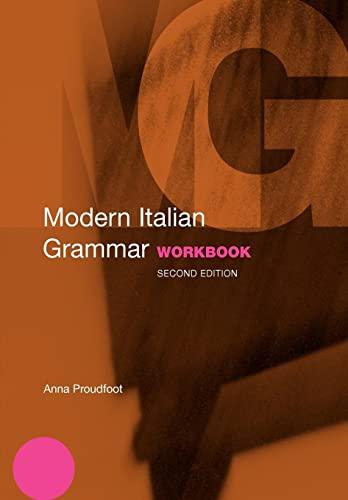 9780415331654: Modern Italian Grammar Workbook (Modern Grammar Workbooks)