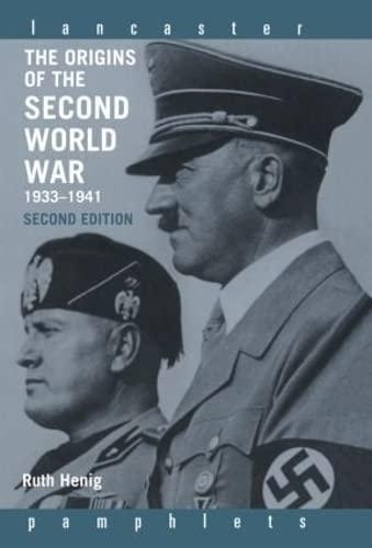 9780415332613: The Origins of the Second World War 1933-1941 (Lancaster Pamphlets)