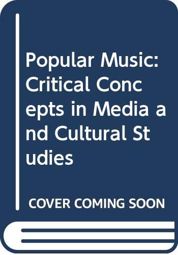 9780415332705: Popular Music:Crit Conc Cult V