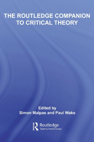 9780415332958: The Routledge Companion to Critical Theory (Routledge Companions)