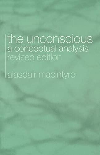 9780415333047: The Unconscious: A Conceptual Analysis