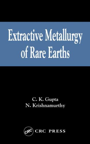 9780415333405: Extractive Metallurgy of Rare Earths