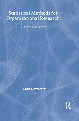 9780415334242: Statistical Methods for Organizational Research: Theory and Practice