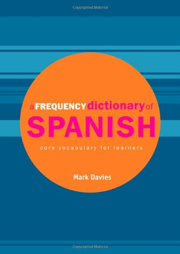 9780415334280: A Frequency Dictionary of Spanish: Core Vocabulary for Learners (Routledge Frequency Dictionaries) (English and Spanish Edition)