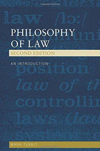 9780415334419: Philosophy of Law: An Introduction