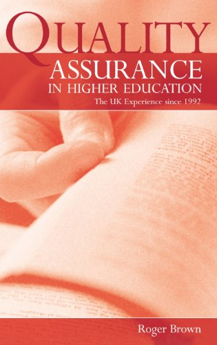 9780415334921: Quality Assurance in Higher Education: The UK Experience Since 1992
