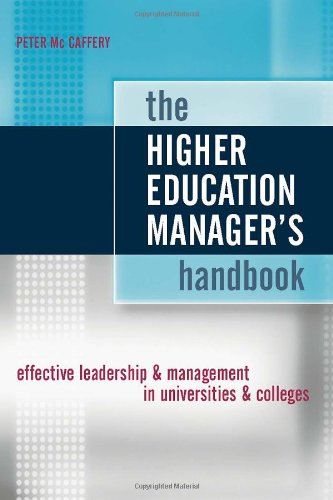 9780415335072: The Higher Education Manager's Handbook: Effective Leadership and Management in Universities and Colleges