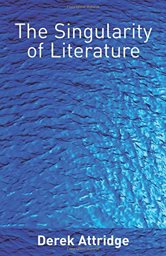 9780415335935: The Singularity of Literature