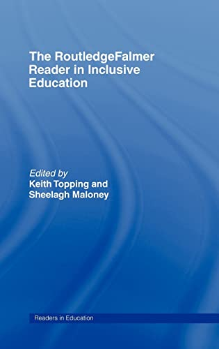 9780415336642: The RoutledgeFalmer Reader in Inclusive Education (RoutledgeFalmer Readers in Education)