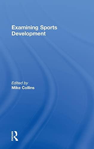 9780415339896: Examining Sports Development