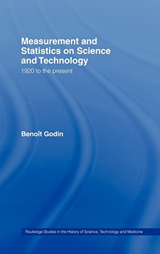 9780415341042: Measurement and Statistics on Science and