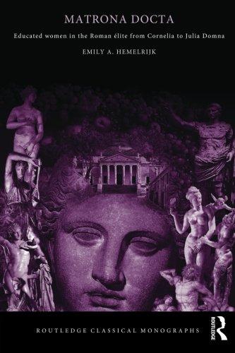 9780415341271: Matrona Docta: Educated Women in the Roman Elite from Cornelia to Julia Domna (Routledge Classical Monographs)