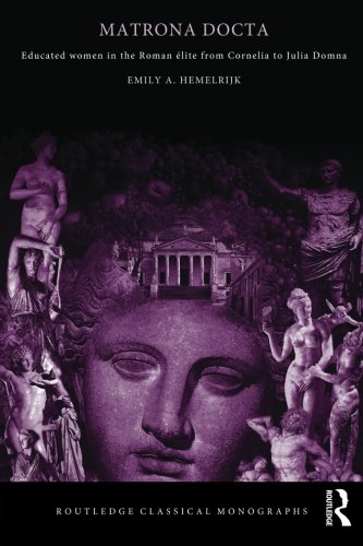 9780415341271: Matrona Docta: Educated Women in the Roman Elite from Cornelia to Julia Domna (Routledge Classical Monographs)