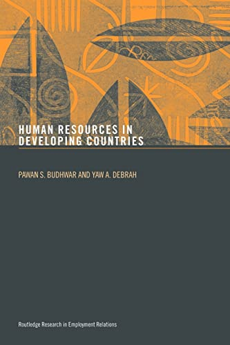 9780415343299: Human Resource Management in Developing Countries (Routledge Research in Employment Relations)