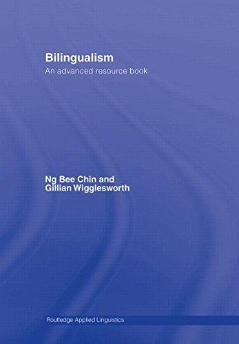 9780415343862: Bilingualism: An Advanced Resource Book (Routledge Applied Linguistics)