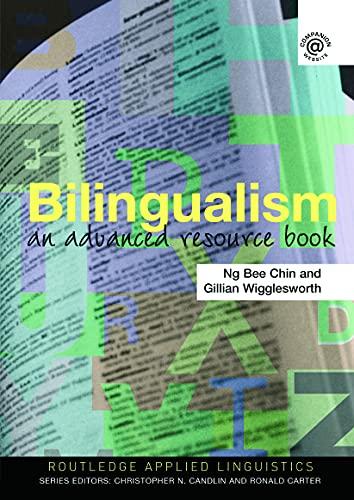 9780415343879: Bilingualism: An Advanced Resource Book (Routledge Applied Linguistics)
