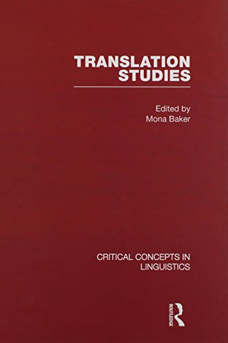 9780415344258: Translation Studies (Critical Concepts in Linguistics)