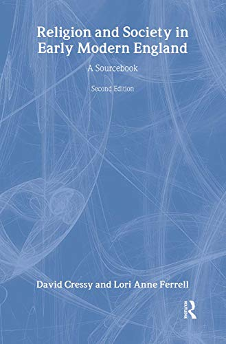 9780415344432: Religion and Society in Early Modern England: A Sourcebook
