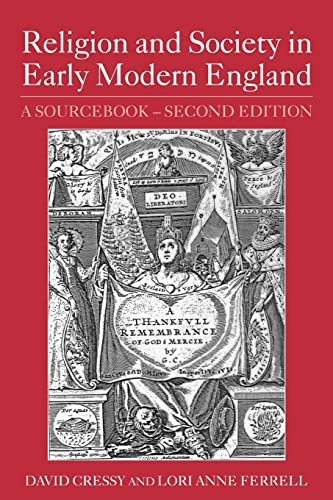 9780415344449: Religion and Society in Early Modern England: A Sourcebook