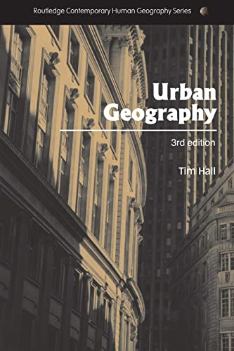9780415344463: Urban Geography (Routledge Contemporary Human Geography Series)