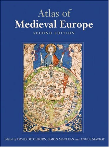 9780415344548: Atlas of Medieval Europe