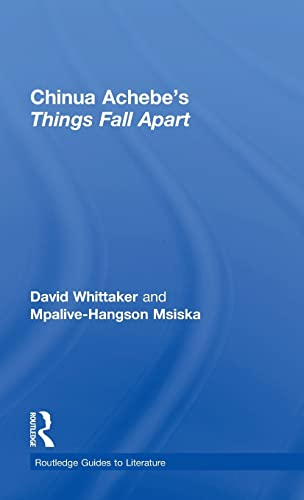 9780415344555: Chinua Achebe's Things Fall Apart: A Routledge Study Guide