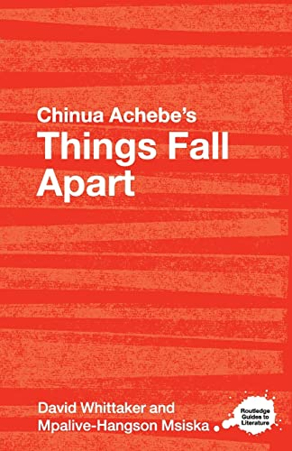 9780415344562: Chinua Achebe's Things Fall Apart: A Routledge Study Guide