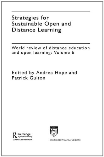 Strategies for Sustainable Open and Distance Learning.: Hope, Andrea ; Guiton, Patrick [Eds]