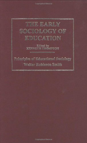 9780415345279: Early Sociology of Education: v. 1, v. 2, v. 3, v. (The Making of Sociology)