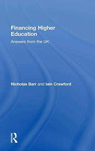 9780415346207: Financing Higher Education: Answers from the UK