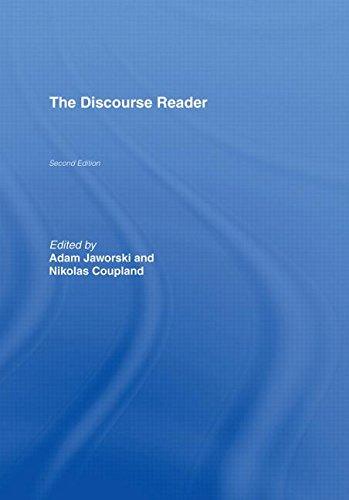 9780415346313: The Discourse Reader