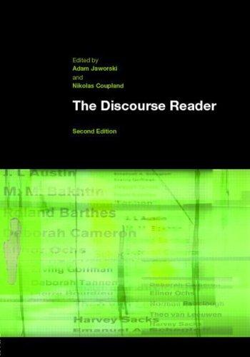 9780415346320: The Discourse Reader