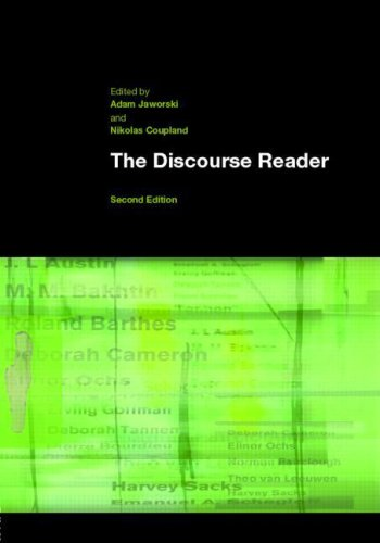 9780415346320: The Discourse Reader