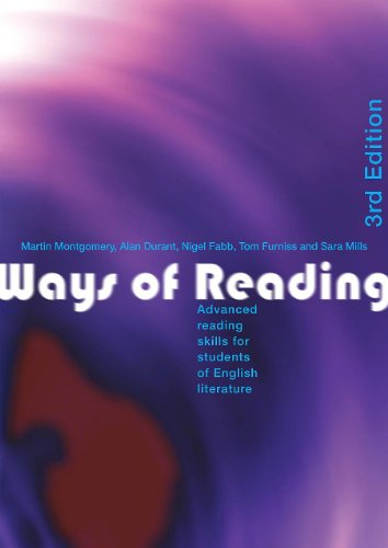 9780415346337: Ways of Reading: Advanced Reading Skills for Students of English Literature
