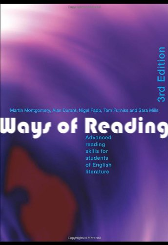9780415346344: Ways of Reading: Advanced Reading Skills for Students of English Literature