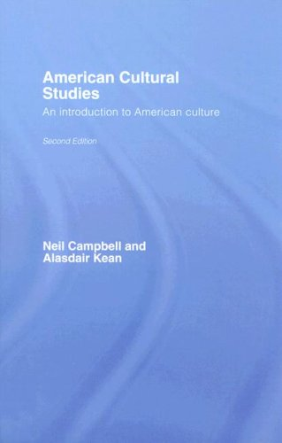 9780415346658: American Cultural Studies: An Introduction to American Culture